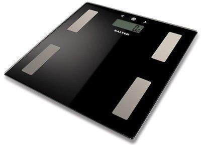 Salter Glass zwart analyseweegschaal