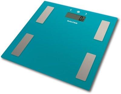 Salter Glass blauw analyseweegschaal
