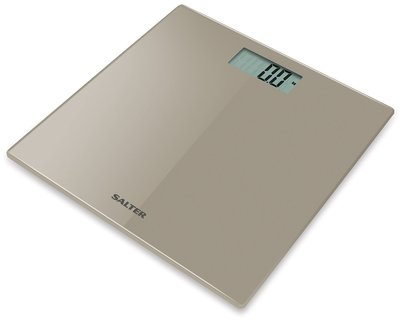 Salter Ultra Slim zilver personenweegschaal