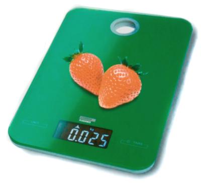 Hav 54329 appelgroen keukenweegschaal