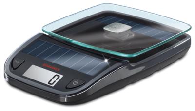 Soehnle Easy Solar zwart keukenweegschaal
