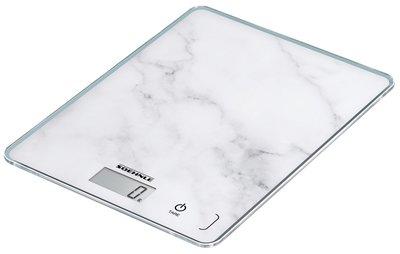 Soehnle Page Compact 300 marble keukenweegschaal