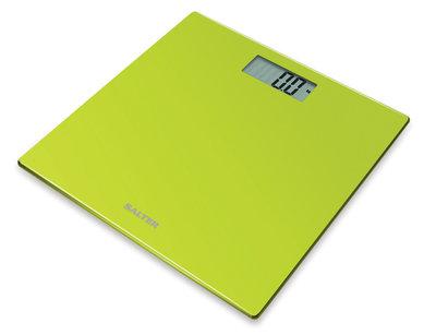 Salter Ultra Slim groen personenweegschaal