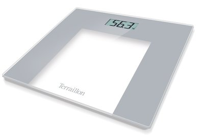 Terraillon TP1000 Glass Grey personenweegschaal