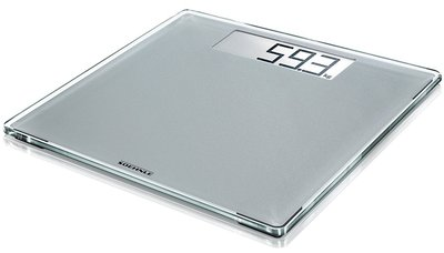Soehnle Style Sense Comfort 400 zilver personenweegschaal