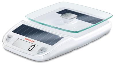 Soehnle Easy Solar wit keukenweegschaal